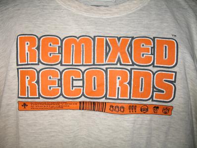 bild - reklamtröja remixed records