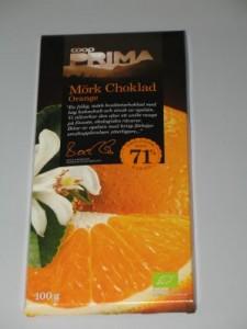 Coop Prima - Mörk choklad Orange