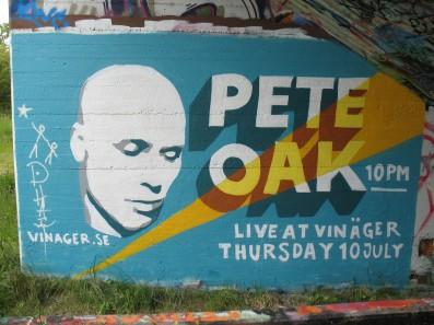 ad Pete Oak @ Vinäger
