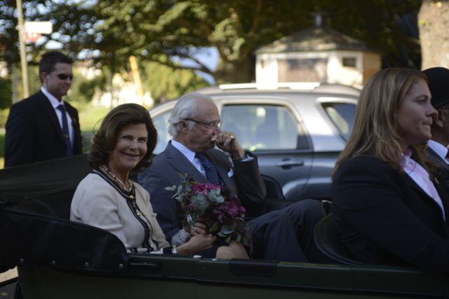 Kungen och Drottningen i Visby den 7 september 2013
